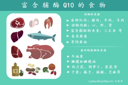 辅酶Q10的作用及选择方法