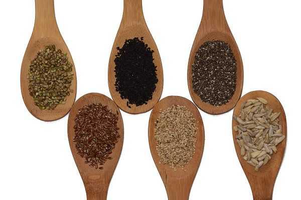 种子类富含矿物质