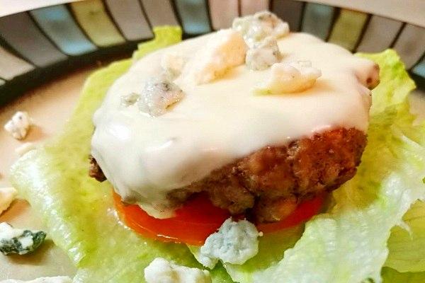 生酮食谱:低碳水芝士汉堡