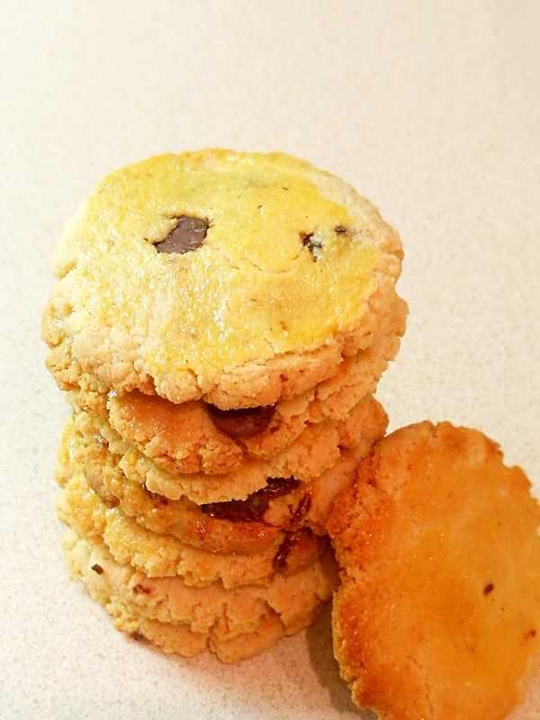 生酮点心:奶酪饼干