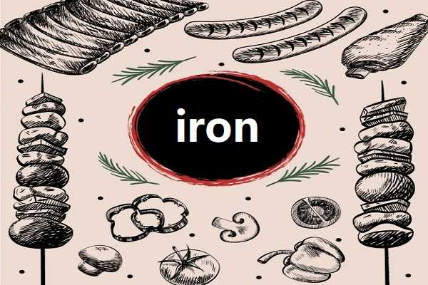 缺铁的原因和症状,及最好的补铁食物